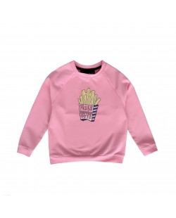 SWEATER// FRIES PINK